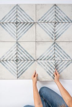 Pantone's Color of the Year: Classic Blue | Bedrosians Tile & Stone Booth Seating In Kitchen, Pantone 2020, Ceramic Wall Tiles, Blue Tiles, Fireplace Surrounds, Coordinating Colors, Glazed Ceramic, Color Of The Year, Tile Patterns