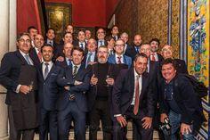 Reunión de la Asociación Gourmets de Sevilla - Premios Fogones de Sevilla - Simón Chávarri con buenos amigos