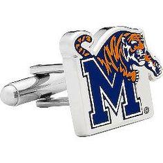 Cufflinks Inc. Memphis Tigers Cufflinks