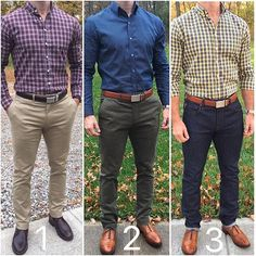 Which was your favorite casual outfit of the week❓ or 🍃🍂🍁🔥 Thanks for all of your continued comments and support❗️ Look Fashion, Mens Fashion, Casual Wear, Men Casual, Herren Outfit, Weekly Outfits, Men Formal, Business Casual Outfits, Men Style Tips