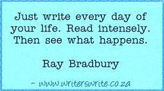 Quotable - Ray Bradbury