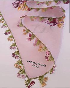 🌟El Emeği Çeyizlik Ürünler 🌟Birinci sınıf işçilik 🌟%100 memnuniyet 🌟Sipariş İçin @salihann_ignesinden42 . . .… Hand Embroidery Tutorial, Hand Embroidery Designs, Crochet Unique, Lacemaking, Tatting Lace, Needle Lace, Color Rosa, Knitted Shawls, Baby Knitting Patterns