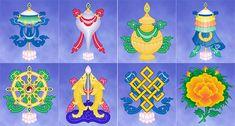 8 Auspicious Symbols - Ashtamangala