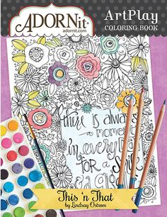 This 'n That Coloring Book by Adornit (4011744)