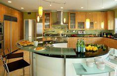Modern kitchen ideas wallpaper