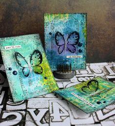 Riikka Kovasin - Paperiliitin: Sky butterflies - GDT Carabelle Studio