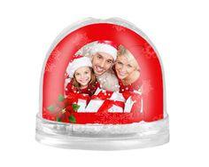 Palla di neve Stella di Natale