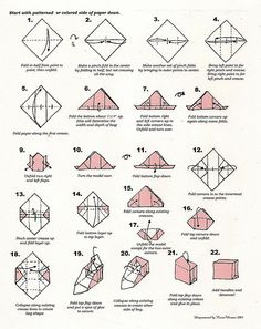 origami purse folding instructions by bonnie32002, via Flickr