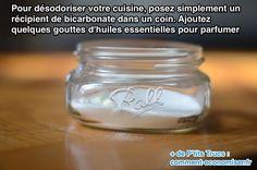 Utilisez du bicarbonate de soude pour désodoriser la cuisine naturellement