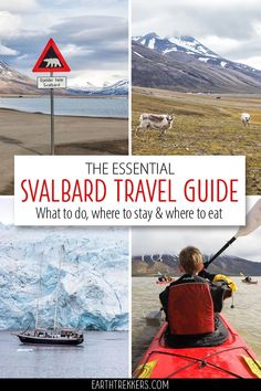 Svalbard Travel Guide and Itinerary. Plan the perfect visit to Svalbard, Norway. The best things to do, when to go, where to stay, where to eat, how to spot a polar bear, and more. #svalbard #norway #adventuretravel #travelideas