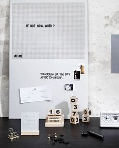 Do you often struggle with keeping tracks of the time and date? With Retro from Monograph, you get a cool clock with multiple functions. The clock White Letters, Letters And Numbers, Metal Grid, Retro Clock, Pin Up Photos, Cool Clocks, En Stock, House Doctor, Types Of Houses