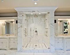Image Result For Marble That Looks Like Molding. MarmorbäderWeiße BadezimmerLuxus  BadezimmerGroße ...
