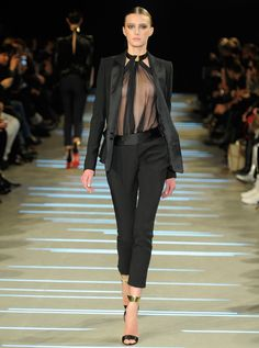 Cannes Film Festival: Runway to red carpet: Alexandre Vauthier haute couture Spring/Summer 2013 (worn by Barbara Palvin)