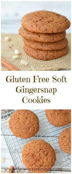 easy gluten free gingersnap cookies gluten free gingersnap cookies ...