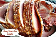 Mommy's Kitchen - Home Cooking & Family Friendly Recipes: Honey Baked Ham {Copykat Recipe}