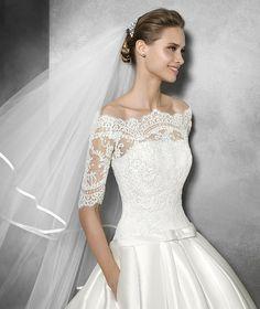 Pronovias > BARONDA - Vestido de novia invierno de estilo princesa