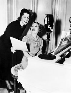 Jeanette MacDonald & Mary Pickford - two of my favorite people together.