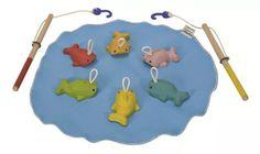 Juego De Pesca - Juguetes De Madera Marca Plan Toys - Bs. 36.960,00 en Mercado…
