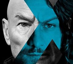 """The first two posters for """"X-Men: Days of Future Past"""" have debuted, featuring Professor Charles Xavier and Magneto. They even have a bit of a time-traveling slant to them, with each character being represented by the two actors who play them."""