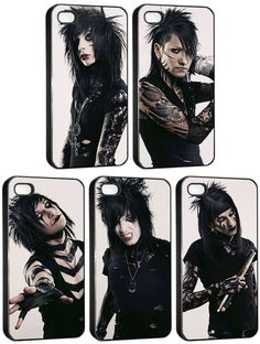 BVB individual iPhone cases!!! I WANT THEM ALL!!!!!!!!! Only if I had an iphone :( someone buy me an iphone