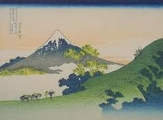 Image result for images of japanese mountain woodblock prints