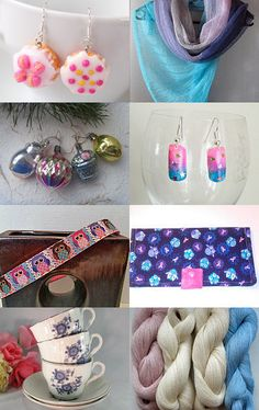Cotton Candy - Avid Team Treasury Game 244 Tuesday ❤ by Ms Lockets on…