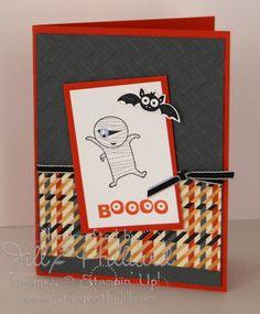 Jill's Card Creations: Its that Ghouls set again...