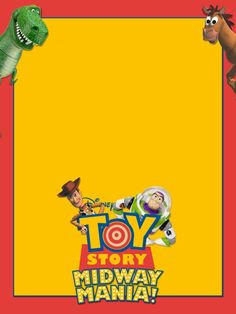 Journal Cards - Toy Story Midway Mania - 3x4 photo dis_188_toy_story_midway_mania.jpg
