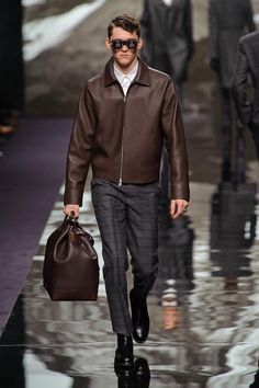Louis Vuitton, Fall 2013. #menfashion #fashionweek #runway