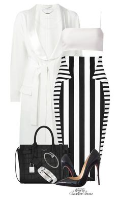 """Unbenannt #2607"" by saskiasnow ❤ liked on Polyvore featuring Givenchy, Cushnie Et Ochs, Giuliana Romanno, Yves Saint Laurent, Christian Louboutin and Cartier"