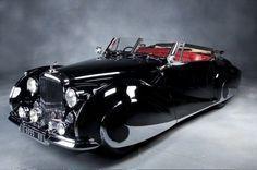 1947 Bentley Mark VI Cabriolet #LuxuryCars #VintageCars #sports cars