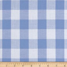 4 colors gingham bed skirt -queen size (60x80) buffalo check -blue