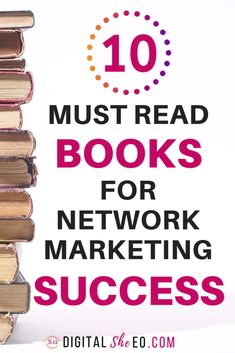 10 Best Network Marketing Books For Direct Sales and MLM Success. Learn network marketing recruiting tips, mlm prospecting strategies and sales funnels for your network marketing business. Sales And Marketing, Business Marketing, Marketing Digital, Online Marketing, Content Marketing, Media Marketing, Marketing Companies, Social Marketing, Marketing Ideas