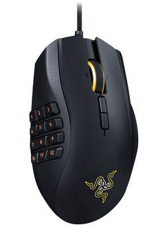 Razer Naga Chroma - Professional Grade Ergonomic MMO Gaming Mouse w/ 12…