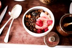 The Best Homemade Granola Recipe http://www.thecoveteur.com/quinoa-granola-recipe/