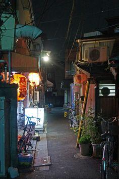 Alleyway, Urban Landscape, Urban Design, Night Time, Tokyo, Japan, Street, City, Environment