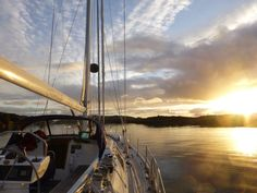 Sunset in the Hebrides #Scotland #sailing