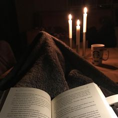 Getting close to 36 hours without power. Thank goodness for my IKEA book light candlesticks & fuzzy blankets keeping me sane during these long cold nights. #snowmegeddon2017 #bookstagram #librarybook #librarian #bookstagrammer