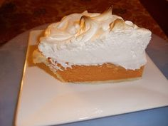 A Life In Pie: My Little Sweet Potato- Sweet Potato Pie with Italian Meringue. Italian Meringue is the best marshmallow fluff that you've ever had. Just Desserts, Delicious Desserts, Dessert Recipes, Yummy Food, Pie Recipes, Thanksgiving Recipes, Fall Recipes, Holiday Recipes, Holiday Foods