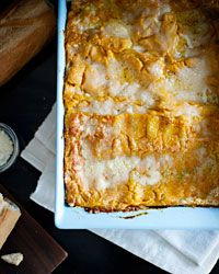 Pumpkin Lasagne // More Baked Pasta: http://www.foodandwine.com/slideshows/baked-pasta  #foodandwine