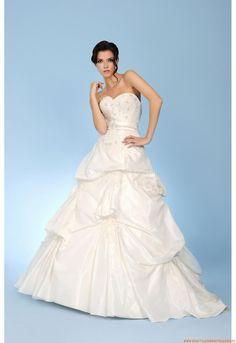 Taft  Elegante Brautkleider
