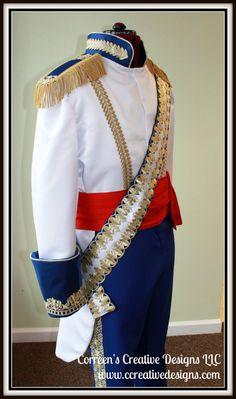 Formelle Prince Eric Costume - Costume de Prince, Cosplay, Custom hommes costumes pour hommes, costume de regal