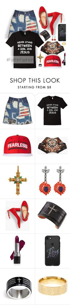 """""""All My Hope is in Jesus"""" by spicedblossom ❤ liked on Polyvore featuring Junya Watanabe, WWE, Alexander McQueen, Mawi, Talbots, KATIE Design, Avon, Casetify and Savvy Cie"""
