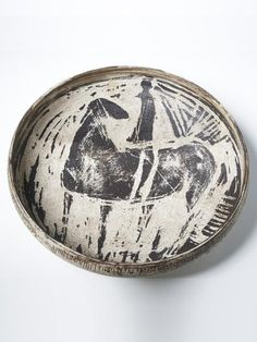 Hans Coper, Sgraffito Bowl circa 1954