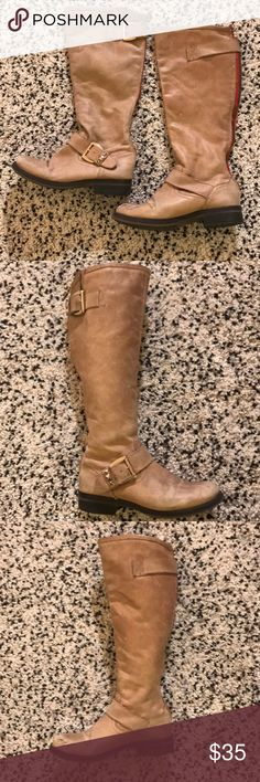 6399a64645a 9 Best Tan knee high boots images in 2016 | Tan knee high boots ...