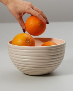 The beautiful one of a kind handmade tableware.   The minimalist line pattern with a matte finish makes the bowl a beautiful eye-catcher on any dining table.  The bowl is easy to clean and ideal for everyday use. Available in our online store.