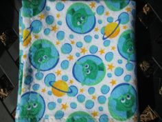SALE Space Alien Baby/Toddler Flannel by SugarBeanStitching, $11.95