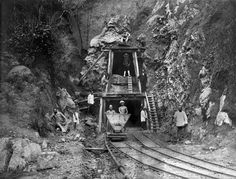 Gold Miners, Indonesia, 1800s