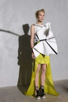 The ILJA Spring 2013 Collection is Futuristically Fashionable trendhunter.com