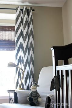 DIY Stenciled Curtains RoundUp